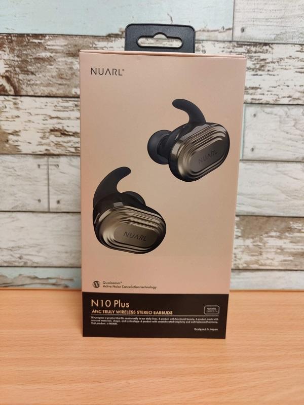 「NUARL N10 Plus」外箱